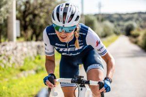 Kvinnlig Trekcyklist