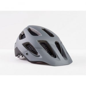 Cykelhjälm grå