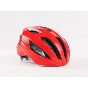 Röd cykelhjälm Bontrager