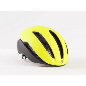 Cykelhjälm gul