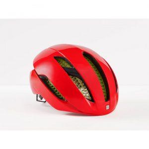 Röd cykelhjälm